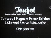 Teufel CEM500SW Subwoofer 450 Watt