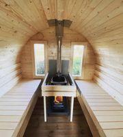 Sauna mieten - Fass-Sauna - Mobile Sauna -