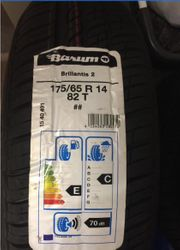 Neue Sommerreifen Peugeot 175 65R14