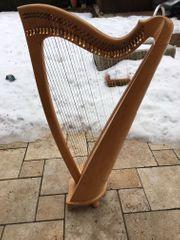 Harfe Wotan Overtüre super erhalten