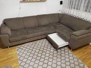 Sitzgruppe Couch EcksitzgruppeMit Schublade
