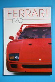 Ferrari F40 - Bildband - Buch - Brian Laban