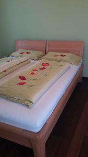 Loddenkemper-Massivholz-Bett Erle 160 x 200 cm
