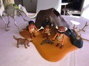 Playmobil Mammutknochen-Zelt mit Jägern 5101