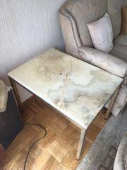 Vintage Tisch aus Marmor