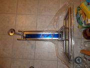 modernes Wandregal mit GLAS-Ablagefläche NEU