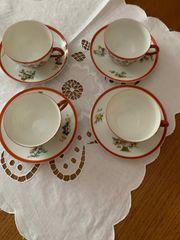 4 Teetassen feinstes chinesisches Porzellan