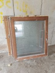 Meranti Holzfenster Doppelt verglast