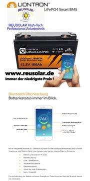 Lithium Ionen Batterie 12V - 100Ah