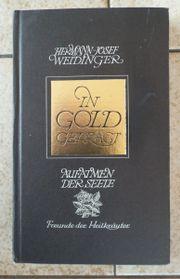 In Gold geprägt Aufatmen der