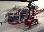 Hirobo Lama SA315 3-Blatt Air