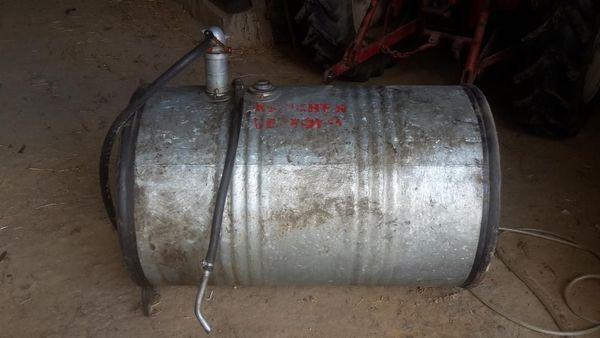 gut erhaltenes Shell Dieselfass m