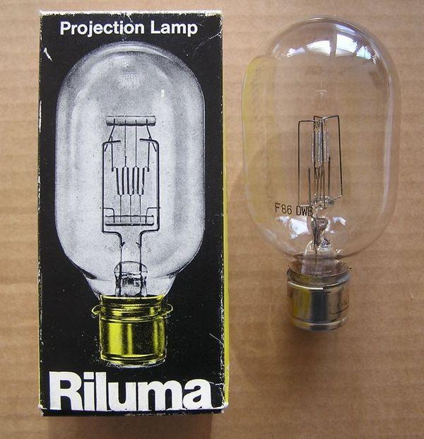 Projektionslampe Riluma 220V 500W - Glühbirne