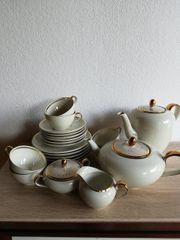Kaffeeservice Goldrand Johann Seltmann 22