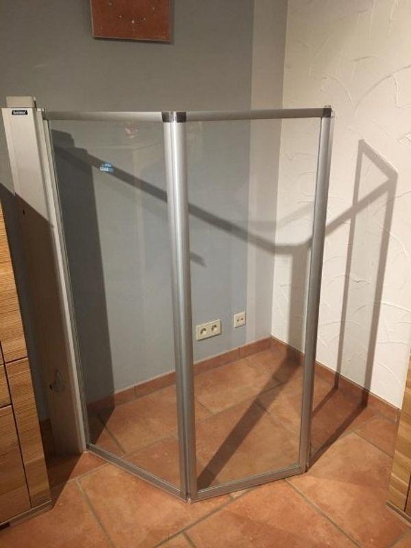 Faltduschwand für Badewanne Duscholux