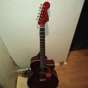 Verkaufe eine Fender Western Gitarre