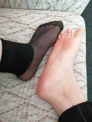 Nylons Socken