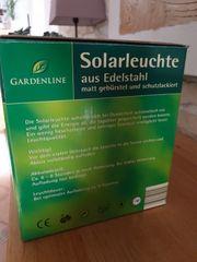 Solar-Gartenleuchte 3er