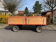 Traktoranhänger - Brennholzanhänger - Anhänger