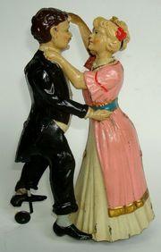 Issmayer berühmtes Tanzpaar Die Tangotänzer