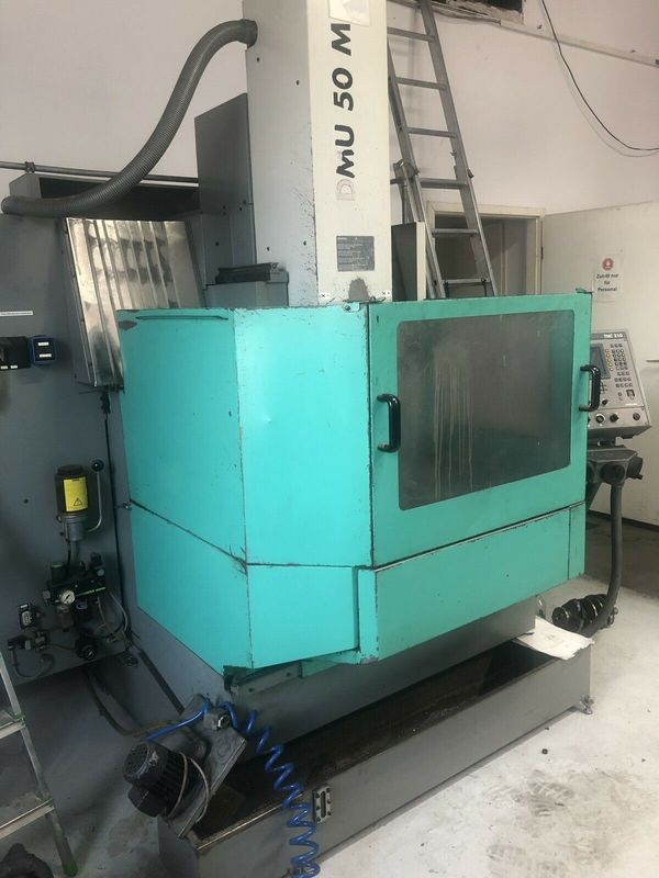 CNC Fräse Universalfräsmaschine Deckel Maho