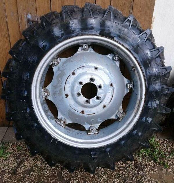 2x Traktorreifen 13 6 R36