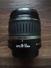 Canon Objektiv EF-S 18 - 55