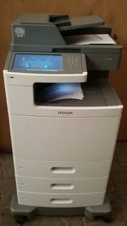 Multifunktionslaserdrucker Lexmark XS-796DTE