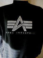 Original Alpha Industries Sweater Gr