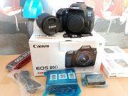 DSLR Kamera Canon EOS 80