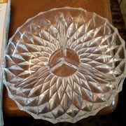 Gemusterte Glasschale Aufteilung wie bei
