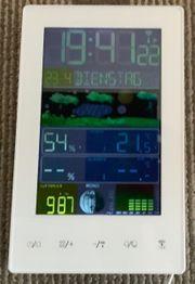 Funkwetterstation mit Weckfunktion und Temperatur