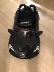 Elektroauto für Kinder schwarz Roadster
