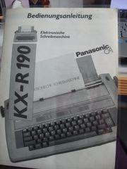 Schreibmaschine PANASONIC