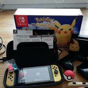 Nintendo pikachu switch