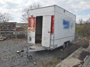 Verkaufswagen TÜV NEU Verkaufsanhänger Imbisswagen