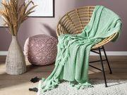 Decke mintgrün 125 x 150