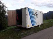 Bauhütte Container Baracke Häuslebauer