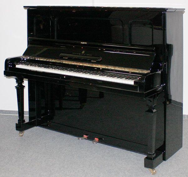 Klavier Steinway Sons K-132 schwarz