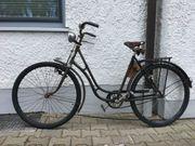 Oldtimer-Fahrrad für Liebhaber Marke Brennabor