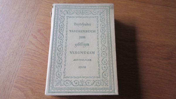 Buxtehuder Taschenbuch zum geselligen Vergnügen
