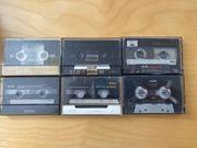 Kassetten Cassetten Maxell TDK BASF