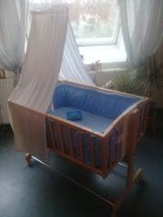 Wiege Pendelwiege Babybett stubenwagen XXL