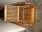Klappstühle Balkon - Akazienholz