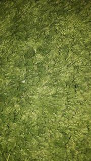 Ikea Teppich grün