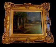 Gemälde um 1900 signiert