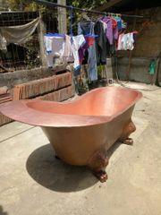 Badewanne Freistehende Wanne Spa Kupfer