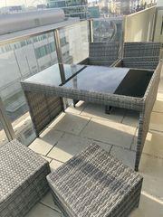 Balkonmöbel-Set