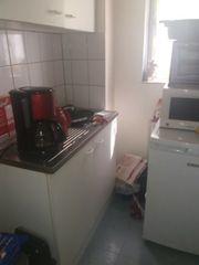 Singelküche mit allen elektrogeräten