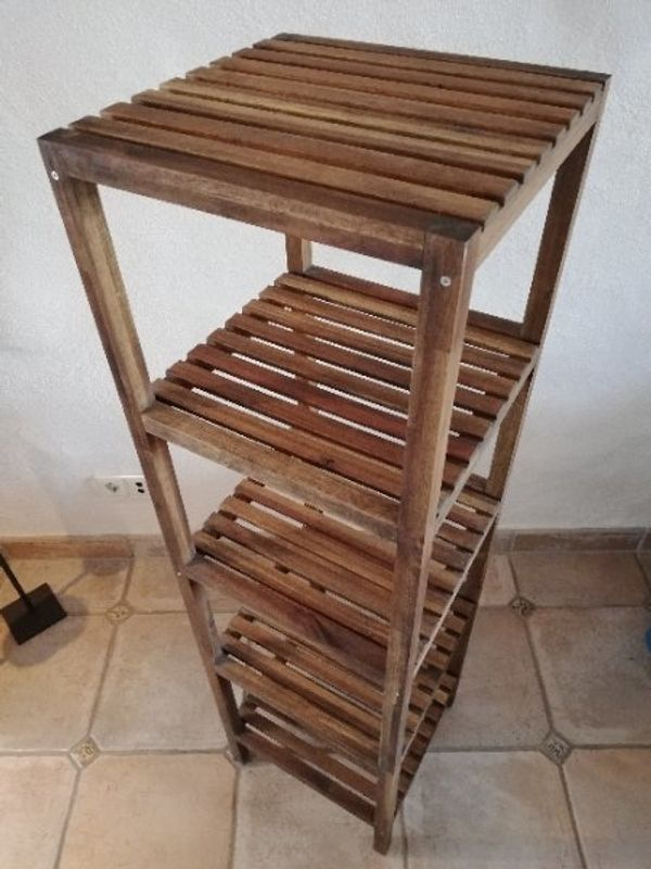 2x Ikea Molger Holz Regal